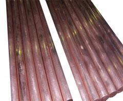 镁碲铜棒的生产步骤